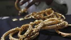 Giá vàng trong nước tăng theo đà thế giới
