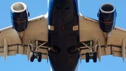 Máy bay Trung Quốc rụng cánh khi đang bay