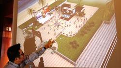 Trưng bày sa bàn Trường Sa tại Festival biển Nha Trang 2013