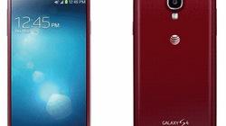 Ngắm toàn diện phiên bản Galaxy S4 màu đỏ