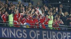 Robben thăng hoa, Hùm xám lên đỉnh Champions League