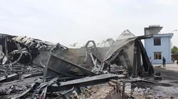 Hiện trường vụ cháy lớn biến công ty mút xốp thành đống đổ nát
