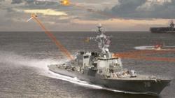 Hải quân Mỹ phát triển loại pháo hạm laser tối tân