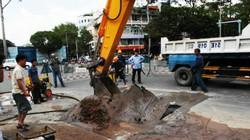 TP.HCM: Xuất hiện hố tử thần tại trung tâm thành phố