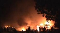 Đã dập tắt đám cháy tại tổng kho ở Gia Lâm
