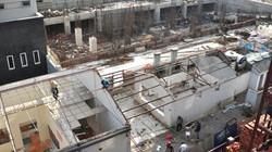 Vụ xây dựng trái phép tại Cầu Giấy: Tiến độ phá dỡ chậm