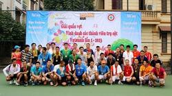 Giải quần vợt Dân Việt 2013: Sân chơi của người Việt