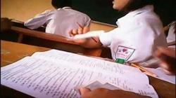 Rộ tin học sinh phải ký cam kết không quay clip phòng thi