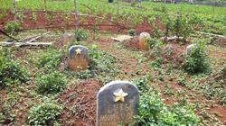 Một nghĩa trang liệt sỹ đang bị lãng quên