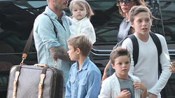"""Vợ chồng Beckham: Ông lên mây xanh, bà bị """"dìm hàng"""""""