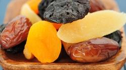 Lưu ý khi ăn hoa quả sấy khô