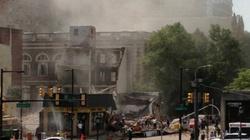Mỹ: Tòa nhà đổ sập giữa thành phố Philadelphia
