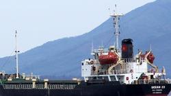 Tàu OCEAN 28 trốn khỏi cảng Vũng Áng