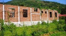 Hỗ trợ dở dang, công trình bỏ hoang