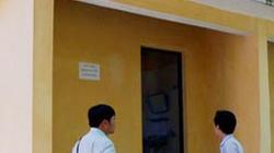 Hơn nửa tỷ đồng xây... nhà vệ sinh trường học 29m2, không có cửa