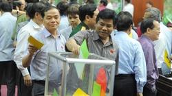 Hôm nay (11.6): Công bố kết quả  lấy phiếu tín nhiệm 47 chức danh