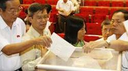 Chi tiết kết quả lấy phiếu tín nhiệm 47 chức danh chủ chốt