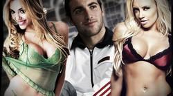 """SỐC: Gonzalo Higuain """"bay"""" xuyên đêm với hai người đẹp"""