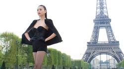 Ngô Thanh Vân khi kiêu sa, lúc lù rù dưới chân Eiffel
