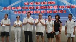 Giải thể thao chào mừng Đại hội Hội NDVN lần thứ VI