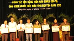 Vedan nhận bằng khen về thành tích hoạt động nhân đạo
