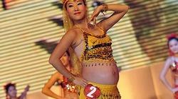 Kinh ngạc xem bà bầu... múa bụng sexy