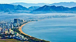 Biển Nha Trang từ trên cao đẹp ngây ngất