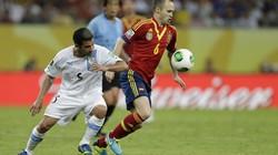 Tây Ban Nha-Uruguay (2-1): Chiến thắng nhọc nhằn