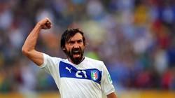 Pirlo chạm mốc 100 lần khoác áo đội tuyển Italia