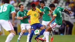 Brazil-Mexico (2-0): Màn trình diễn rực rỡ của Neymar