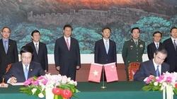 Việt Nam và Trung Quốc ký kết 10 văn kiện hợp tác