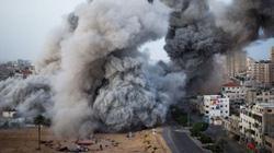 Israel oanh tạc dải Gaza
