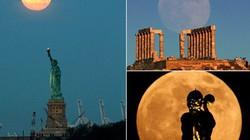 """Nức lòng ngắm """"siêu trăng"""" đẹp hiếm thấy"""