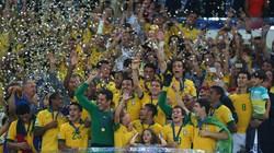 """Brazil-Tây Ban Nha (3-0): Hạ gục """"bò tót"""", Selecao lên đỉnh"""