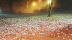 Hôm nay Lào Cai mưa đá, ngày mai Miền Bắc trở lạnh