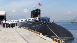 Hoàn tất buổi tổng duyệt lễ thượng cờ trên 2 tàu ngầm Kilo 636