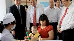 Hơn 83.000 trẻ đã được tiêm phòng sởi