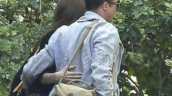 Brad Pitt tình tứ ôm eo Angelina Jolie đi hẹn hò riêng