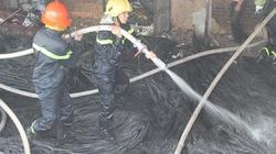 Hà Tĩnh: Cháy lớn tại nhà máy... cấp nước