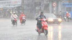 Miền Bắc xuất hiện mưa vừa, mưa to