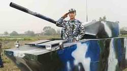 Bố thiết kế hẳn... một chiếc xe tăng cho con