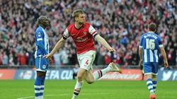 Thắng nghẹt thở, Arsenal giành vé vào chung kết FA Cup
