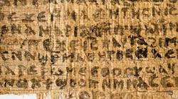 """Mẩu giấy cổ """"Tin Mừng của vợ Chúa Jesus"""" không phải đồ giả"""