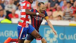 Barcelona tiếp tục 'sụp hầm' trên sân Granada