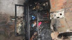 Chủ nhà vắng, lửa bùng cháy thiêu rụi mọi đồ đạc
