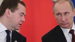 Ông Putin tăng lương cho mình và Thủ tướng Dmitry Medvedev