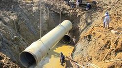Kiểm tra đường ống dẫn nước sạch sông Đà