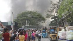 Đám cháy tại KCN Vĩnh Tuy cơ bản được dập tắt