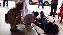 CSGT cứu sống một thanh niên ngất ở đường cao tốc