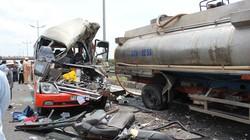 Xe khách đâm xe bồn ở cao tốc Trung Lương: Đã có 5 người tử vong
